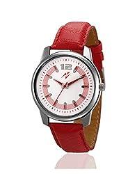 Yepme Triyon Mens Watch - White/Red -- YPMWATCH2115