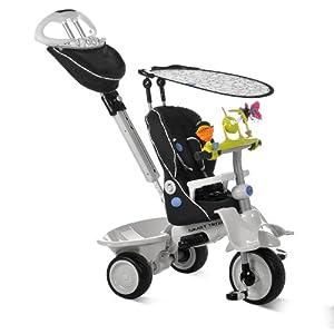 smart trike recliner 4 in 1 tricycle black. Black Bedroom Furniture Sets. Home Design Ideas