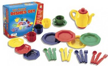 Let's Pretend Dishes Set - Buy Let's Pretend Dishes Set - Purchase Let's Pretend Dishes Set (Educational Insights, Toys & Games,Categories,Pretend Play & Dress-up,Sets,Cooking & Housekeeping,Dishes & Tea Sets)