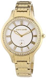 Pierre Cardin Damen-Armbanduhr Premiere Chic Analog Quarz PC105012F03