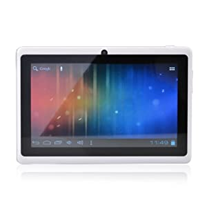 "7"" inch Touch Screen A13 1.0GHz CPU  Android 4.0 Tablet PC 4GB HDD 512MB WiFi (White)"