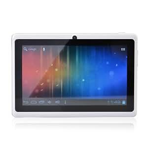 "Léliktec - Allwinner A13 - Tablette tactile - Disque dur 4GB HDD - Processeur 1.0 GHz - RAM 512MB - Wifi - Android 4.0.4 (Ice Cream Sandwich OS) - Ecran tactile 7"" - Blanc"