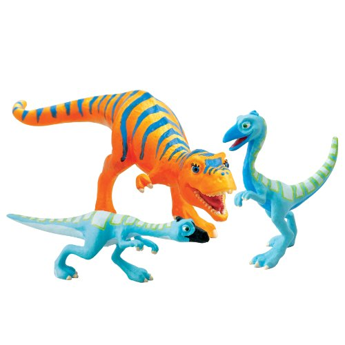 Learning Curve Dinosaur Train - Collectible Dinosaur 3 Pack - Dolores, Ollie, Orin