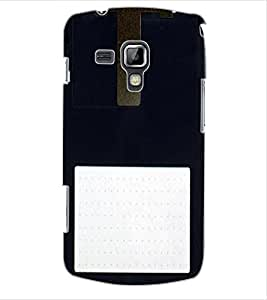 ColourCraft Floppy Design Back Case Cover for SAMSUNG GALAXY S DUOS 2 S7582