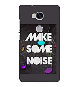 PRINTSHOPPII QUOTES Back Case Cover for Huawei Honor 5X