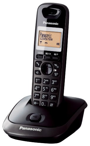Panasonic KX-TG2511 Telefono Cordless Domestico, Nero