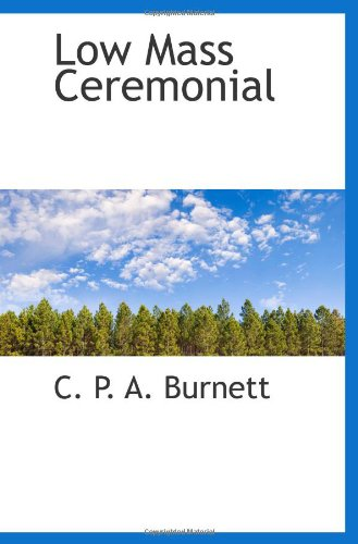 Low Mass Ceremonial PDF