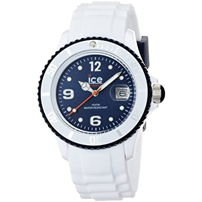 Amazon.com: Ice-Watch SI.WB.U.S.12 Ice-White Blue Watch: Ice-Watch