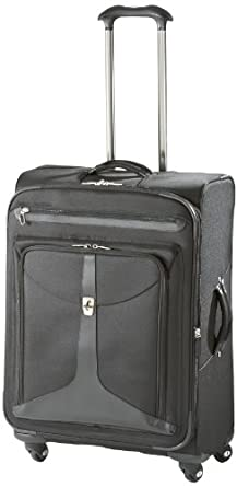 Atlantic Luggage Odyssey Lite Expandable Spinner, Black, One Size