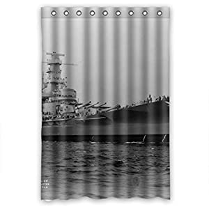 polyester shower curtains beach size width height 48 72 inch 122 183 cm. Black Bedroom Furniture Sets. Home Design Ideas