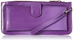 Meridian Women's Wallet Purple