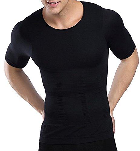 【男性用】着るだけでダイエット効果!着圧で筋トレ!おススメの加圧Tシャツ・メンズインナーを教えて