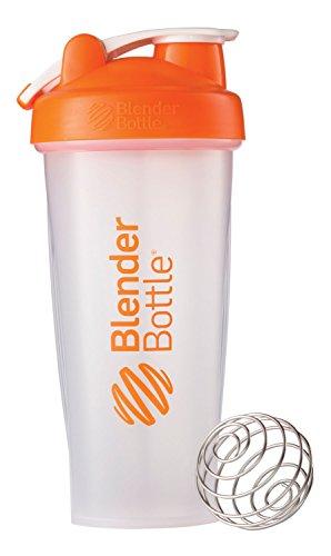 Best Price BlenderBottle Classic Loop Top Shaker Bottle, Clear Orange, 28 Ounce