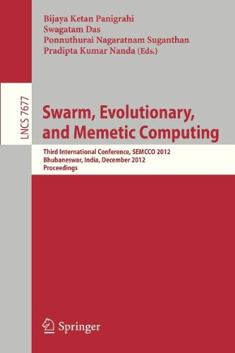Swarm, Evolutionary, And Memetic Computing: Third International Conference, Semcco 2012, Bhubaneswar, India, December 20-22, 2012, Proceedings ... Computer Science And General Issues)