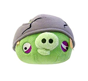 "Angry Birds 8"" Plush Helmet Pig with Sound"