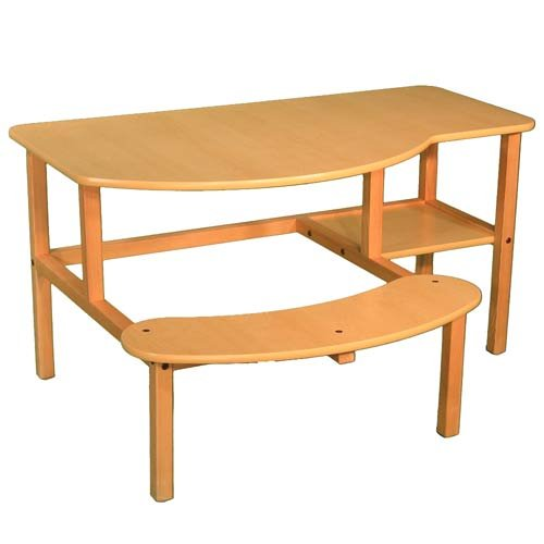 Buy Low Price Comfortable Wild Zoo Furniture B-D MPL-TAN-WZ Grade School Buddy Computer Desk in Maple with Tan Trim (B0029L5Y2C)