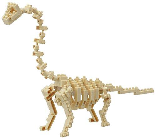 KAWADA Nanoblock 3D Puzzle Brachiosaurus NBC-114 - over 140 pieces