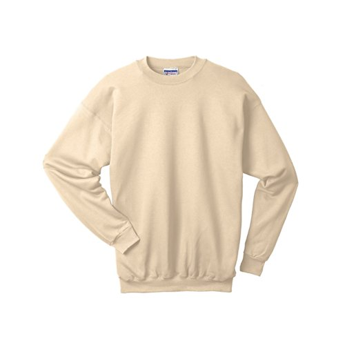 Hanes 9.7 Oz. Ultimate Cotton� 90/10 Fleece Crew - Pebble - 2Xl