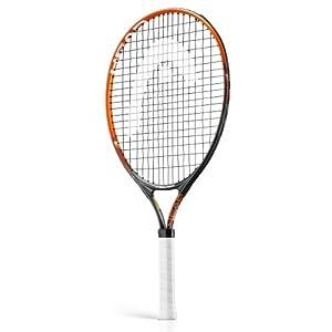 Head Kids Radical 23 Tennis Racket - Grey/Orange