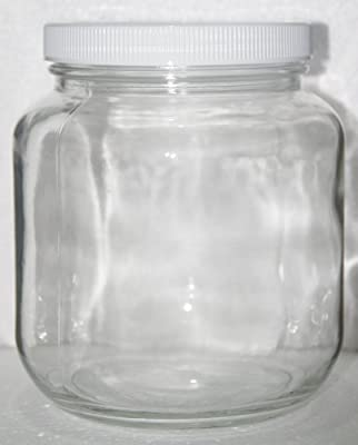 1 Gallon or 1/2 Gallon Glass Jar