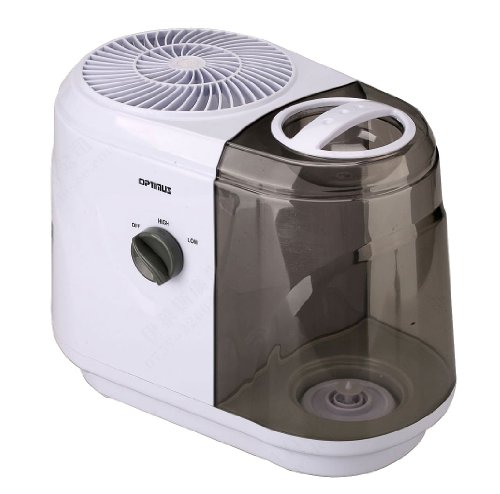 Optimus U-33015 1-Gallon Tank Capacity Cool Mist Evaporative Humidifier - 1