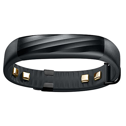 Jawbone UP3 Heart Rate Activity and Sleep Tracker - Black Twist