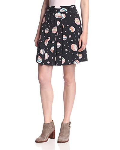 See by Chloé Women's Printed Pleat Skirt
