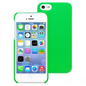 Snugg iPhone 5 / 5S Case - Ultra Thin Case with Lifetime Guarantee (Green) for Apple iPhone 5 / 5S