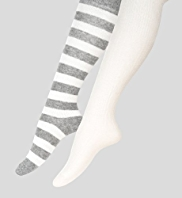 2 Pairs of Assorted Socks with Angora
