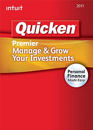Quicken Premier 2011 [Download] [OLD VERSION]
