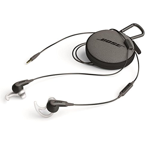 017817699280 - Bose SoundSport in-ear headphones - Apple devices Charcoal carousel main 0