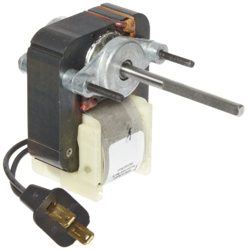 """Fasco K110 C Frame Open K Line Shaded Pole Oem Replacement Electric Motor With Sleeve Bearing, 1/75Hp, 3000Rpm, 115Vac, 60Hz, 0.77 Amps, 2.44"""" Shaft Length, For Vent Fan"""