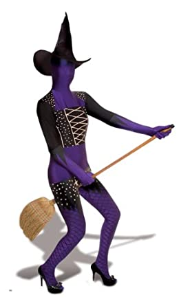 Morphsuits Men's Purple Witch Adults