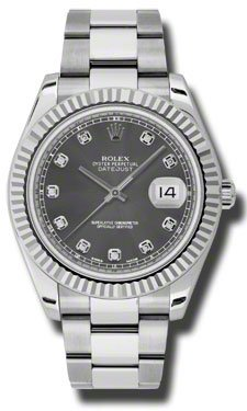 Rolex Oyster Perpetual Datejust II 116334RDO Watch