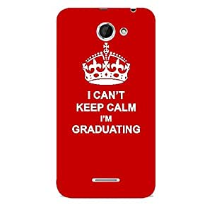 Skin4gadgets I CAN'T KEEP CALM I'm GRADUATING - Colour - Red Phone Skin for HTC DESIRE 516 (ONLY BACK)