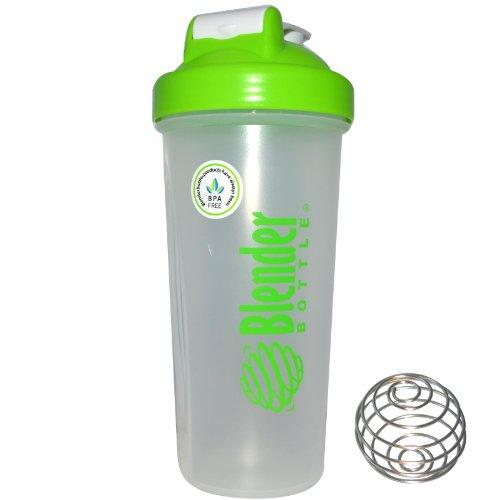 Sundesa, Blender Bottle With Blender Ball, Color: Green, 28 Oz Bottle