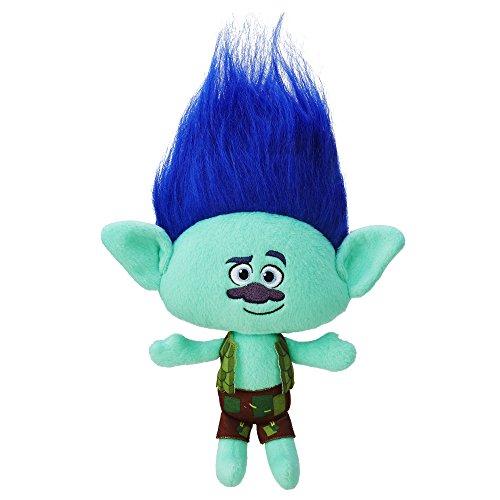 DreamWorks Trolls Branch Hug 'N Plush Doll (Rocky Blue Doll compare prices)