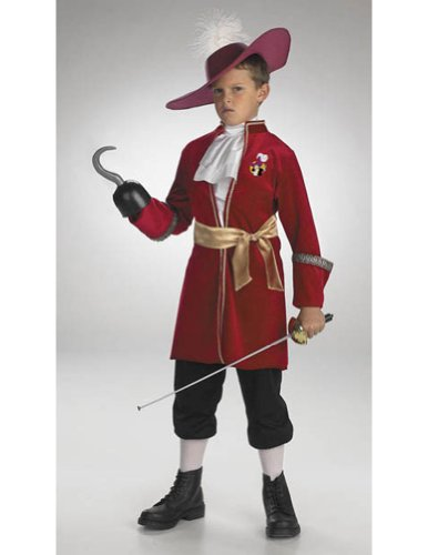 Baby-boys - Captain Hook Std Toddler Costume 3T 4T Halloween Costume