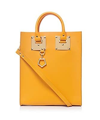 Sophie Hulme Mini Tote Bag Yolk