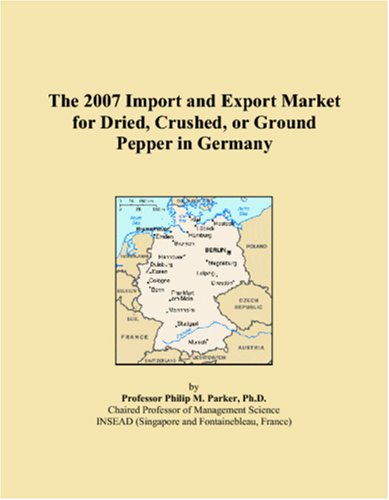 The 2007 Import and Export Market for Dried, Crushed, or Ground Pepper in Germany