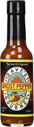 Dave\'s Gourmet Naga Jholokia (Ghost Pepper) Hot Sauce, 5-Ounce
