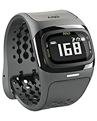 Mio Alpha 2 Heart Rate Monitor Sports Watch, Regular (Black)
