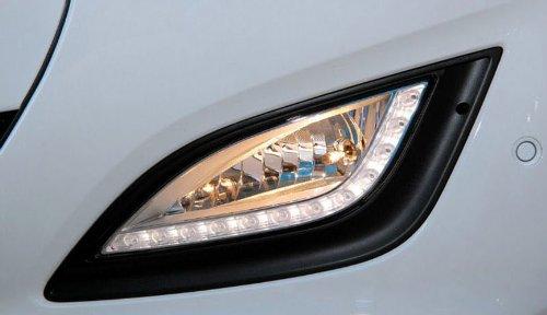 Hyundai Motors Genuine Led Front Left Right Fog Light Lamp Cover 2-Pc Set For 2012 Hyundai I30 : Elantra Gt Only