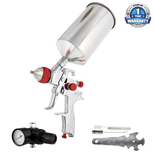 tcp-global-brand-professional-hvlp-spray-gun-with-14mm-fluid-tip-and-regulator