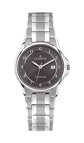 Dugena Damen-Armbanduhr Titan Analog Quarz Titan 4460514