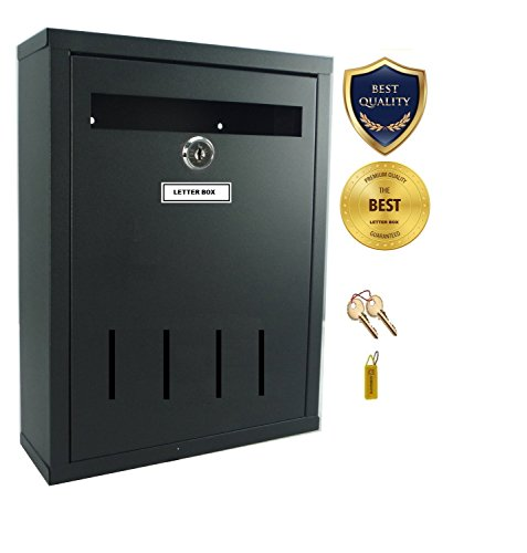 Neat Godrej Steel Letter Box For Gate And Wall