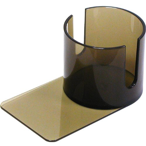 Plastic Cup Holder Smoke- Slide Under With Cutouts 10-NB-CH002