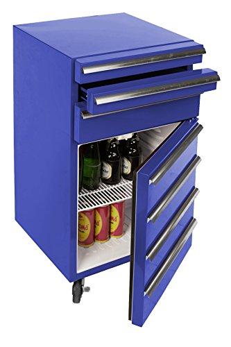 mini-kuhlschrank-fur-getranke-im-retro-werkstattwagen-look-blau-fahrbar-innovativ-stromsparend-exklu