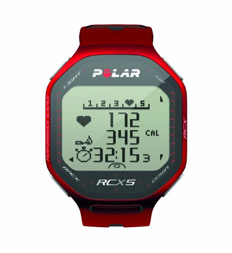 Polar RCX5 Heart Rate Monitor (Red) Picture