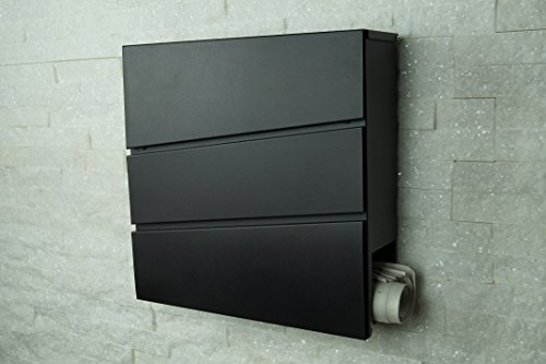 designer briefkasten mailbox wandbriefkasten modell. Black Bedroom Furniture Sets. Home Design Ideas